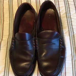 Men's Bass Co brown penny loafers